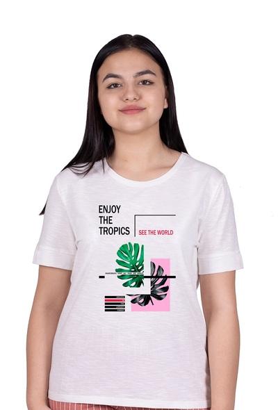 3079 Футболка женская 48-54 Tropics