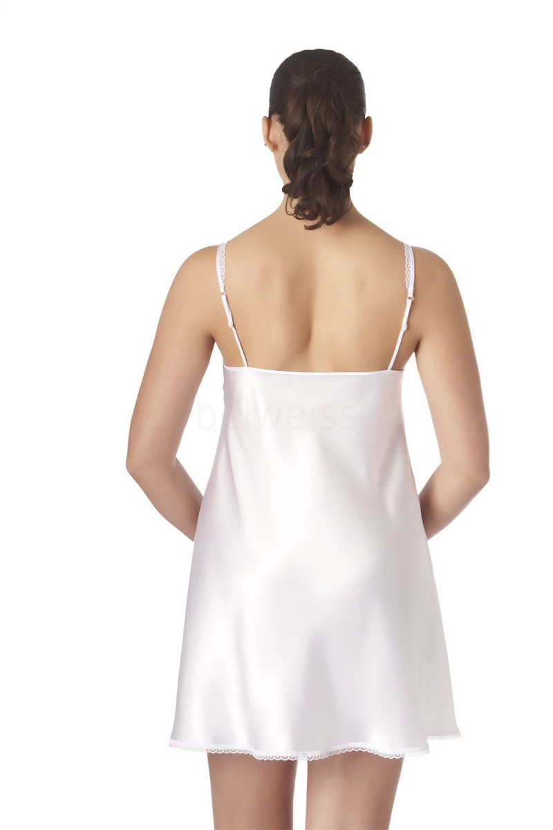 Атласная сорочка Belweiss. Распродажа 46 размера