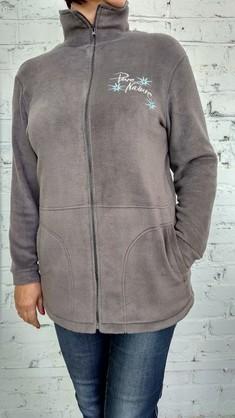 5507 Пуловер 48-58 серый