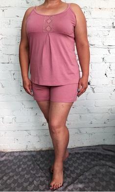 5602 Комплект (пижама) 46-54 сухая роза