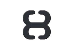 BA-13 Клипс черный