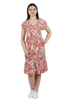 3247 Платье 52-60 терракот