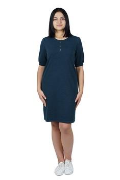 3155 Платье 46-52 синий