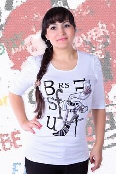 044 Блуза белый 44-50