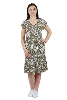 3247 Платье 52-60 хаки