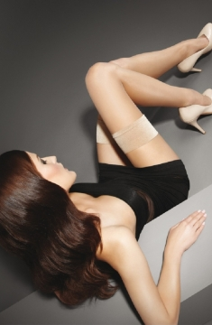 EXCLUSIVE MAKE-UP HOLD-UPS 10 DEN Чулки MARILYN
