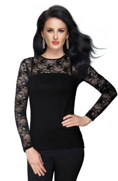 1626 Блузка El Fa Mei черный XL