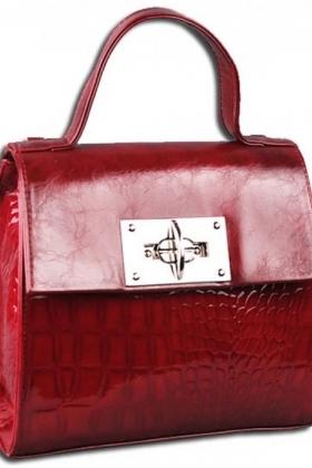 Женская сумка 694 Savio бордо
