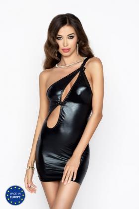 Черное сексуальное платье Cornelia