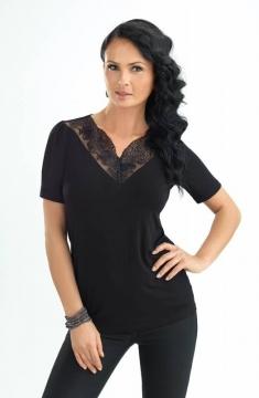 1192 Allison блузка El Fa Mei черный