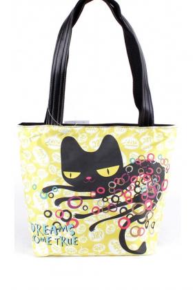 Текстильная женская сумка