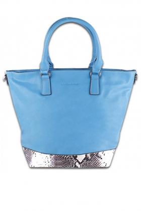 Голубая женская сумка от David Jones