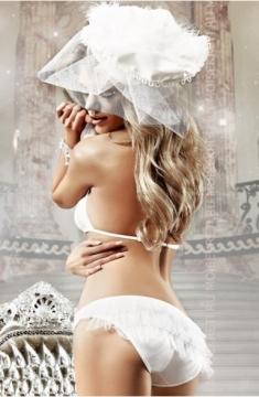 Комплект бикини с рюшами